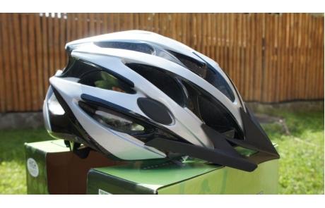 Casca MTB BikeForce Arrow Gri/Negru